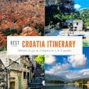 Croatia Itinerary: Where to go in Croatia in One Week