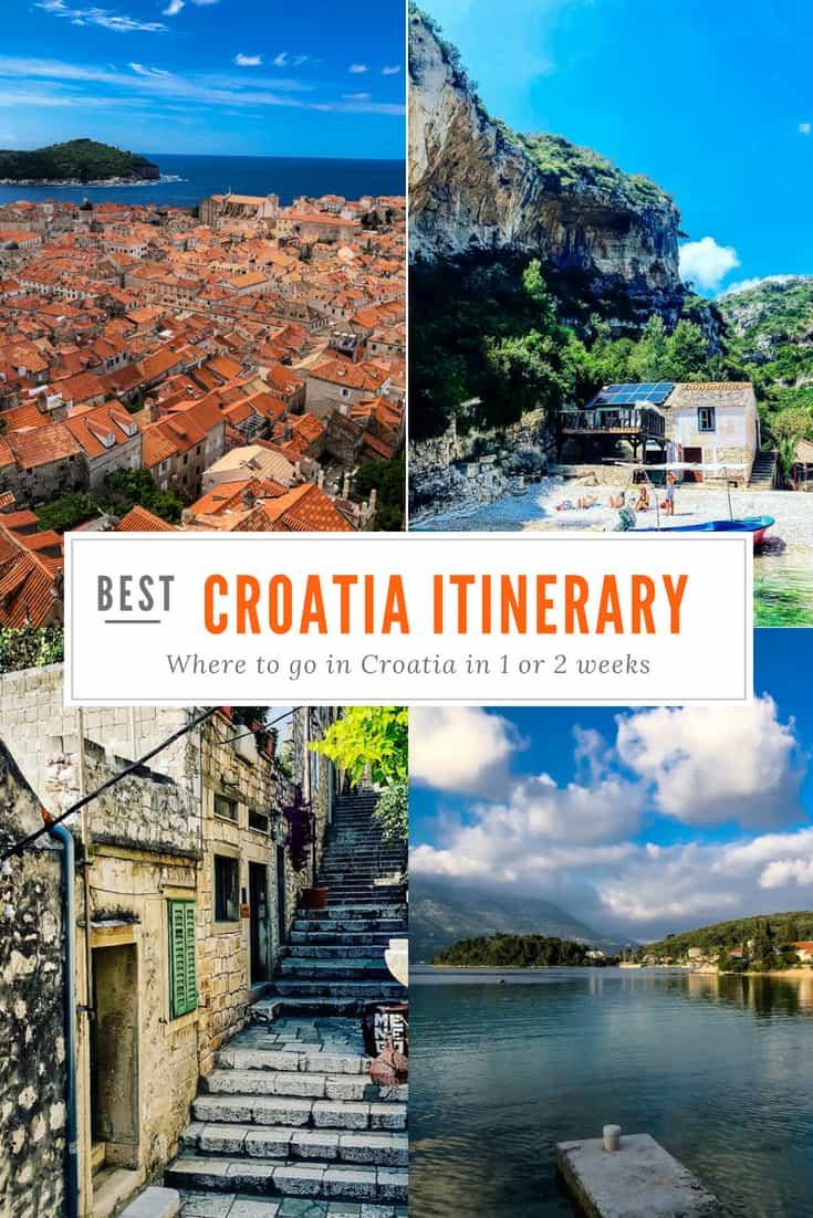Croatia Itinerary: Where to go in Croatia in One Week