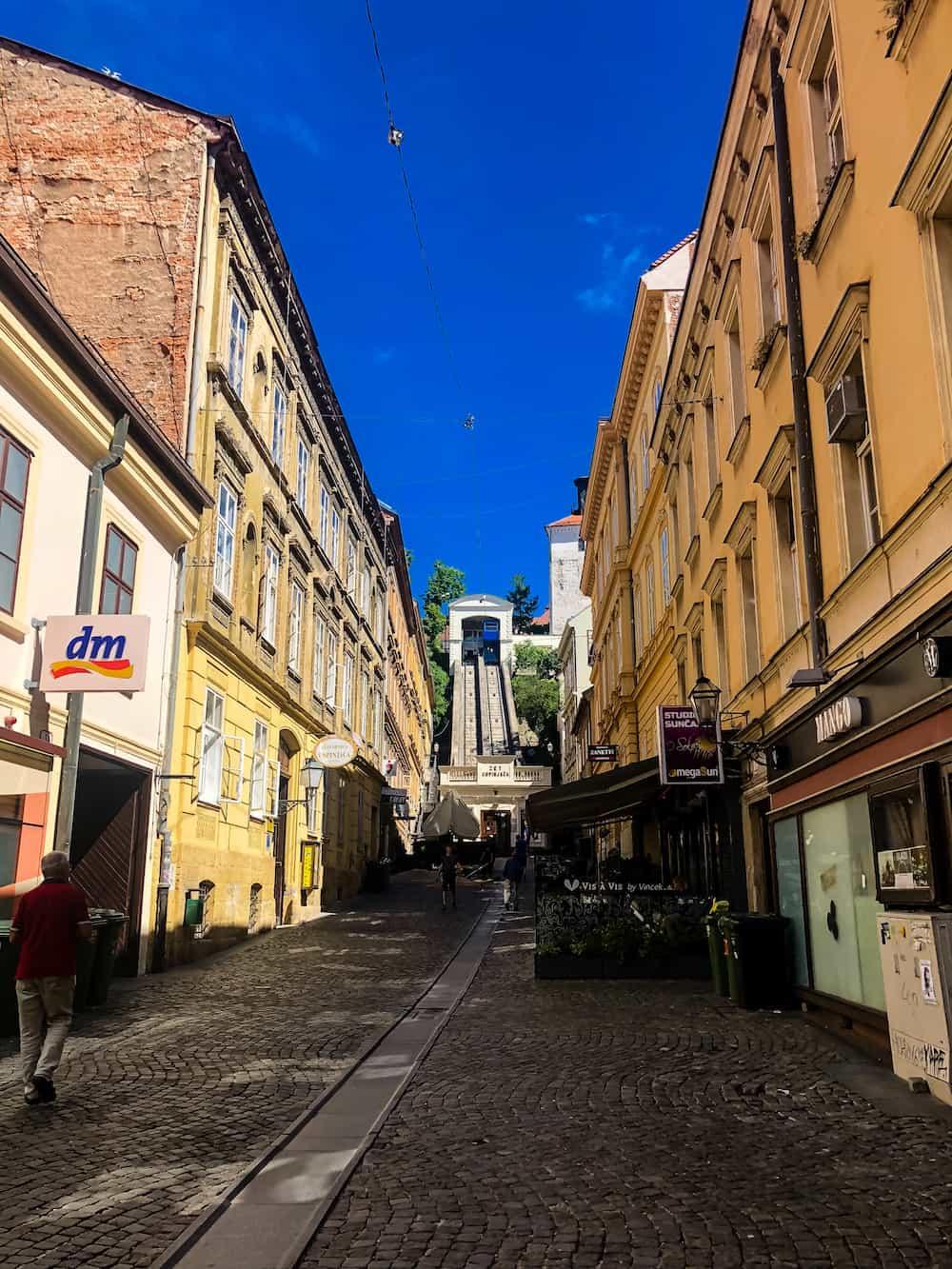 Image of Zagreb funicular
