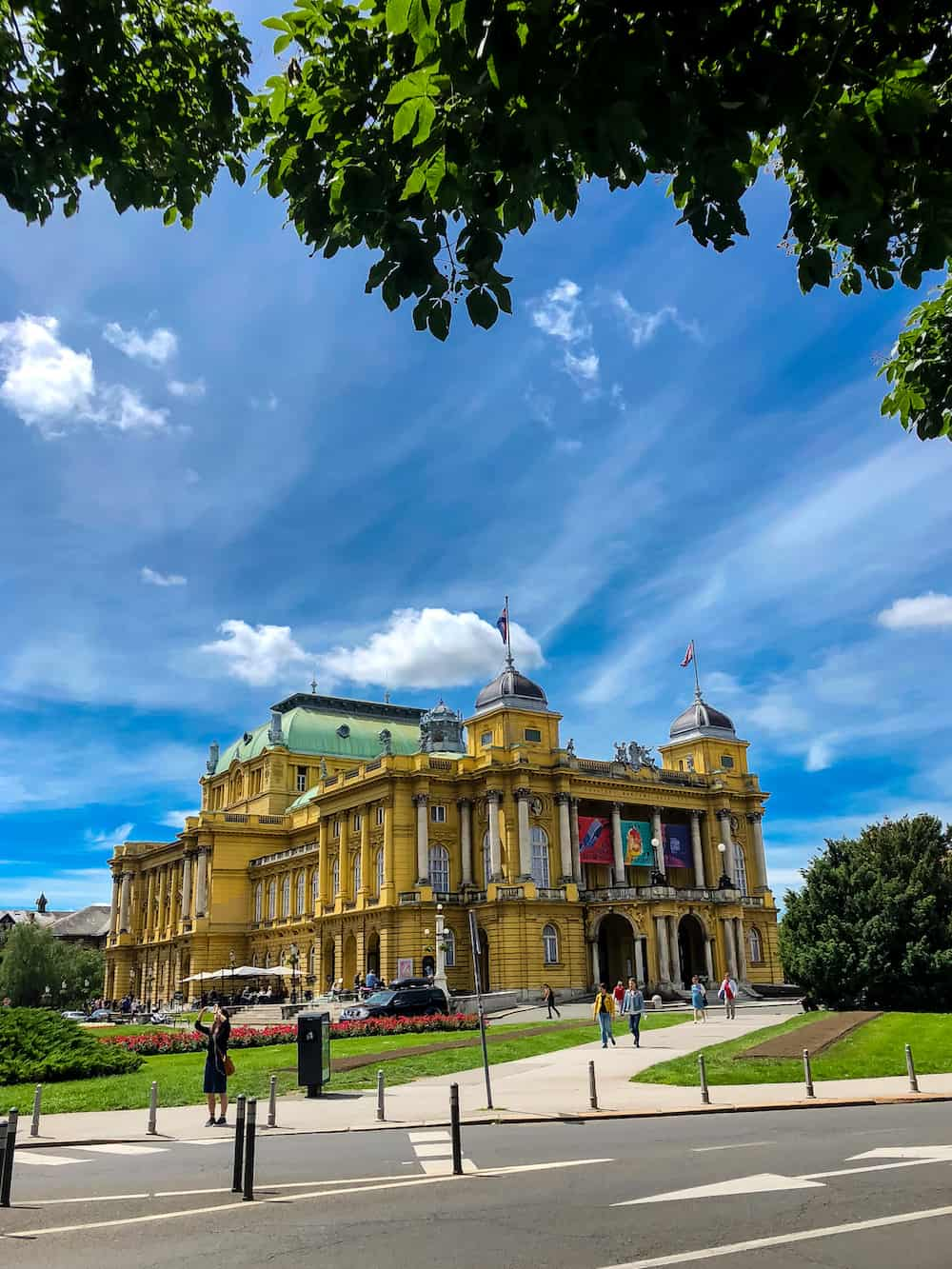 Image of Croatian National Theatre in Zagreb