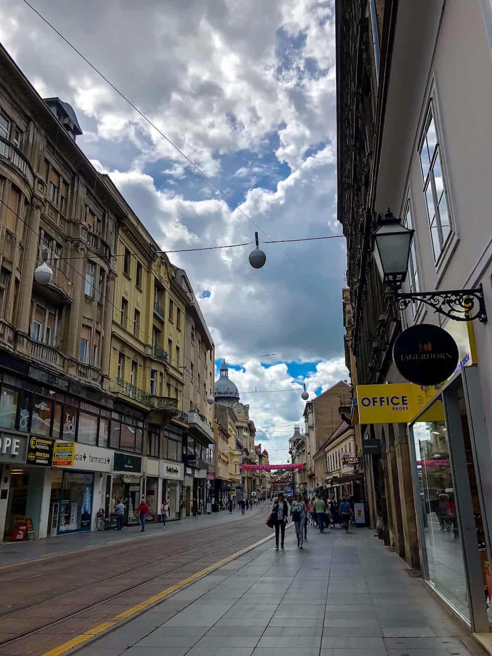 Image of Ilica in Zagreb, Croatia