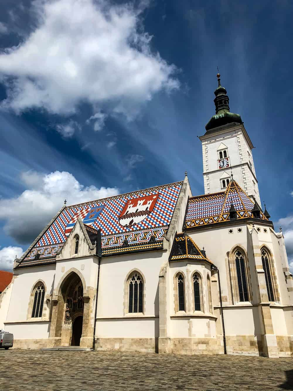 Image of Zagreb stone church