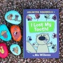 Unlimited Squirrels by Mo Willems & Perfect Rock Painting Tutorial