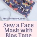 How to Sew a Face Mask with Bias Tape
